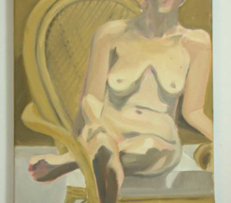 Oil Sketch Nude