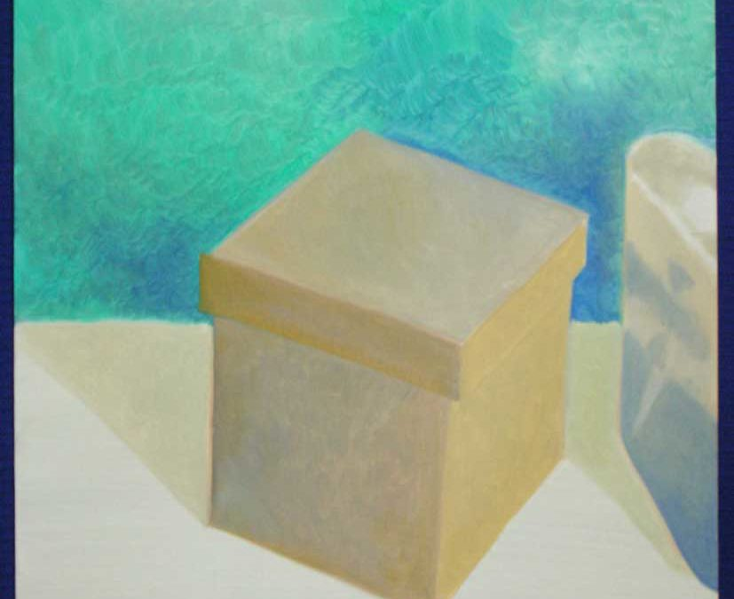 "Oil Study, ""One Box, One Can"""